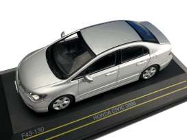 Honda  - Civic 2006 silver - 1:43 - First 43 - F43130 - F43-130 | Tom's Modelauto's