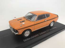 Mitsubishi  - Galant GTO 1970 orange - 1:43 - Norev - 800174 - nor800174 | Tom's Modelauto's