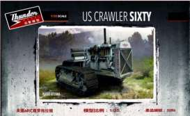 Militaire  - US Crawler Sixty  - 1:35 - Thunder Models - 35006 - thu35006 | Toms Modelautos