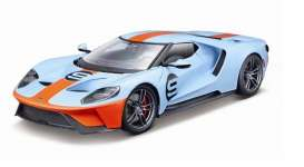 Ford  - GT #9 2017 gulf blue/orange - 1:18 - Maisto - 38134bo - mai38134bo | Tom's Modelauto's