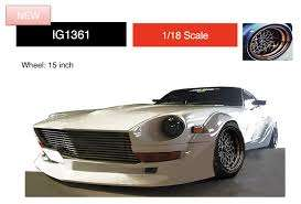 Nissan  - Fairlady Z white - 1:18 - Ignition - IG1361 - IG1361 | Toms Modelautos