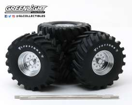 Wheels & tires Rims & tires - 1:18 - GreenLight - 13546 - gl13546 | Tom's Modelauto's