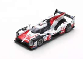 Toyota  - TS050 2018 white/red/black - 1:64 - Spark - Y133 - spaY133 | Toms Modelautos