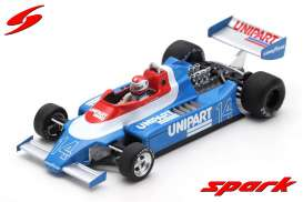 Ensign  - N180 1980 white/blue - 1:43 - Spark - s5304 - spas5304 | Toms Modelautos