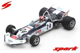 Surtees  - TS9 1971 white/black - 1:43 - Spark - s4015 - spas4015 | Toms Modelautos