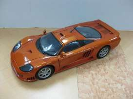 Saleen  - metallic copper - 1:18 - Motor Max - 73117cp - mmax73117cp | Tom's Modelauto's