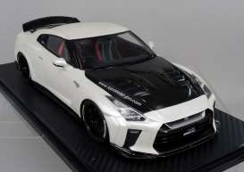 Nissan  - GT-R white pearl - 1:18 - Ignition - IG1537 - IG1537 | Toms Modelautos