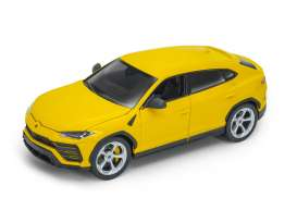Lamborghini  - Urus 2017 yellow - 1:24 - Welly - 24094 - welly24094y | Tom's Modelauto's