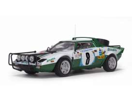 Lancia  - Stratos HF 1975 white/green - 1:18 - SunStar - 4626 - sun4626 | Tom's Modelauto's