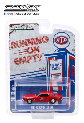Mercury  - Cougar 1967 red - 1:64 - GreenLight - 41090C - gl41090C | Toms Modelautos