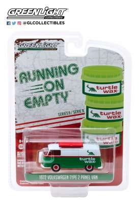 Volkswagen  - Type 2 Panel Van 1972 green/white - 1:64 - GreenLight - 41090D - gl41090D | Tom's Modelauto's