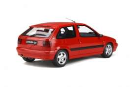 Citroen  - ZX 16V 1994 red - 1:18 - OttOmobile Miniatures - ot797 - otto797 | Toms Modelautos