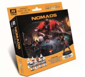 Paint Figures - Nomads various - Vallejo - 70233 - val70233 | Toms Modelautos