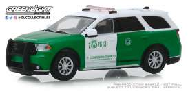 Dodge  - Durango 2018 green/white - 1:64 - GreenLight - 30079 - gl30079 | Tom's Modelauto's