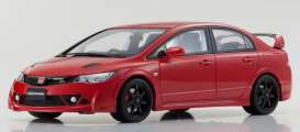 Honda  - Civic Type R red - 1:18 - Kyosho - KSR18038R - kyoKSR18038R | Tom's Modelauto's