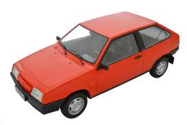Lada  - 2108 Samara red - 1:18 - Premium Scale Models - 18003C - PSM18003Cr | Tom's Modelauto's