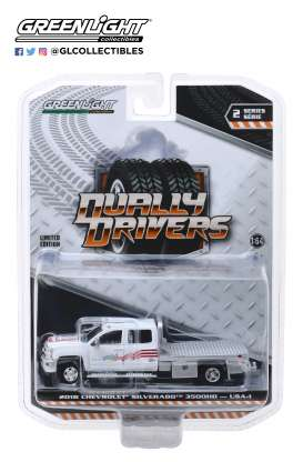 Chevrolet  - Silverado 2018  - 1:64 - GreenLight - 46020B - gl46020B | Tom's Modelauto's