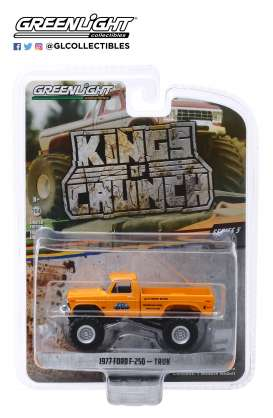 Ford  - F-250 Monster Truck 1977 yellow - 1:64 - GreenLight - 49050B - gl49050B | Tom's Modelauto's