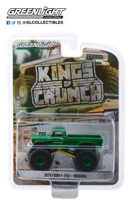 Ford  - F-250 Monster Truck 1979 green - 1:64 - GreenLight - 49050C - gl49050C | Tom's Modelauto's