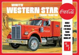 Western Star  - Semi Tractor *Coca Cola*  - 1:25 - AMT - s1160 - amts1160 | Toms Modelautos