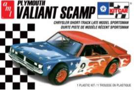 Plymouth  - Valiant Scamp  - 1:24 - AMT - s1171M - amts1171M | Tom's Modelauto's