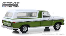 Ford  - F-100 1976 green/white - 1:18 - GreenLight - 13545 - gl13545 | Toms Modelautos
