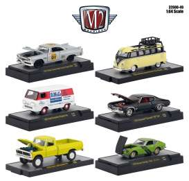 Assortment/ Mix  - various - 1:64 - M2 Machines - 32600-49 - M2-32600-49 | Tom's Modelauto's