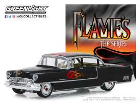Cadillac  - Fleetwood 1955 black - 1:64 - GreenLight - 30105 - gl30105 | Tom's Modelauto's