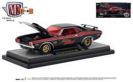 Dodge  - Challenger 1970 black/red - 1:24 - M2 Machines - 40300-72A - M2-40300-72A | Tom's Modelauto's