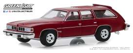 Pontiac  - Grand LeMans 1976 red - 1:64 - GreenLight - 29970E - gl29970E | Tom's Modelauto's