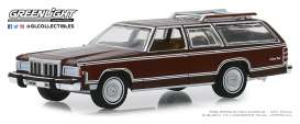 Mercury  - Grand Marquis 1980 brown - 1:64 - GreenLight - 29970F - gl29970F | Tom's Modelauto's