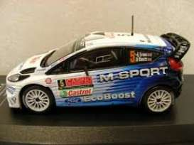 Ford  - Fiesta RS WRC 2015 blue/white - 1:43 - Magazine Models - fp1528L13c03 - MagRfp1528L13c03 | Toms Modelautos