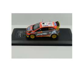 Ford  - Fiesta RS WRC 2015 grey/orange - 1:43 - Magazine Models - fp1528L13c10 - MagRfp1528L13c10 | Tom's Modelauto's