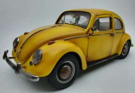 Volkswagen  - Beetle saloon 1949 yellow - 1:12 - SunStar - 5219 - sun5219 | Tom's Modelauto's