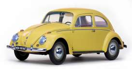 Volkswagen  - Beetle saloon 1949 yellow - 1:12 - SunStar - 5217 - sun5217 | Tom's Modelauto's