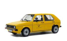 Volkswagen  - Golf  yellow - 1:18 - Solido - 1800206 - soli1800206 | Toms Modelautos