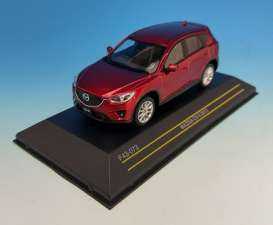 Mazda  - 2013 red metallic - 1:43 - First 43 - F43-073 | Tom's Modelauto's