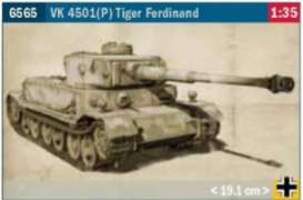 Military Vehicles  - Tiger Ferdinand  - 1:35 - Italeri - 6565 - ita6565 | Toms Modelautos