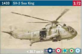 Helicopters  - SH-3 Sea King  - 1:48 - Italeri - 1433 - ita1433 | Toms Modelautos