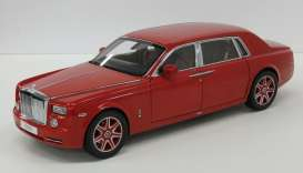 Rolls Royce  - light red - 1:18 - Kyosho - 8841lr - kyo8841lr | Toms Modelautos