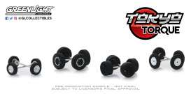 Wheels & tires Rims & tires - 1:64 - GreenLight - 16030C - gl16030C | Tom's Modelauto's