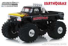 Ford  - F-250 Monster Truck 1975 black - 1:43 - GreenLight - 88022 - gl88022 | Toms Modelautos