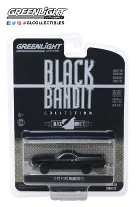 Ford  - Ranchero 1970 black - 1:64 - GreenLight - 28010B - gl28010B | Tom's Modelauto's