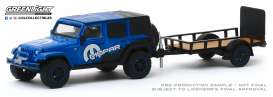 Jeep  - Wrangler 2012  - 1:64 - GreenLight - 32190B - gl32190B | Tom's Modelauto's