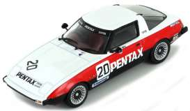 Mazda  - RX7 #20 1980 white/red/black - 1:43 - Magazine Models - 4672111 - magBT4672111 | Tom's Modelauto's