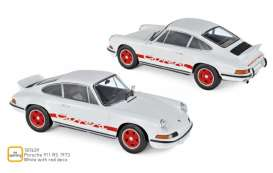 Porsche  - 911 RS 1973 white/red - 1:18 - Norev - 187639 - nor187639 | Toms Modelautos
