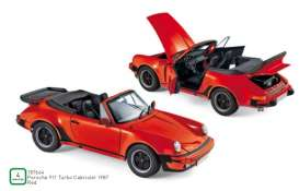 Porsche  - 911 Turbo 1987 red - 1:18 - Norev - 187664 - nor187664 | Tom's Modelauto's