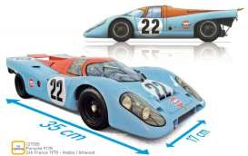 Porsche  - 917K 1970 blue/orange - 1:12 - Norev - 127505 - nor127505 | Tom's Modelauto's