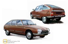Citroen  - GS Pallas 1978 brown - 1:18 - Norev - 181627 - nor181627 | Toms Modelautos