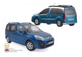 Citroen  - Berlingo 2016 blue - 1:18 - Norev - 181640 - nor181640 | Tom's Modelauto's